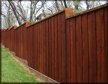Dallas Fort Worth Tx Gates Amp Fences Fence Staining